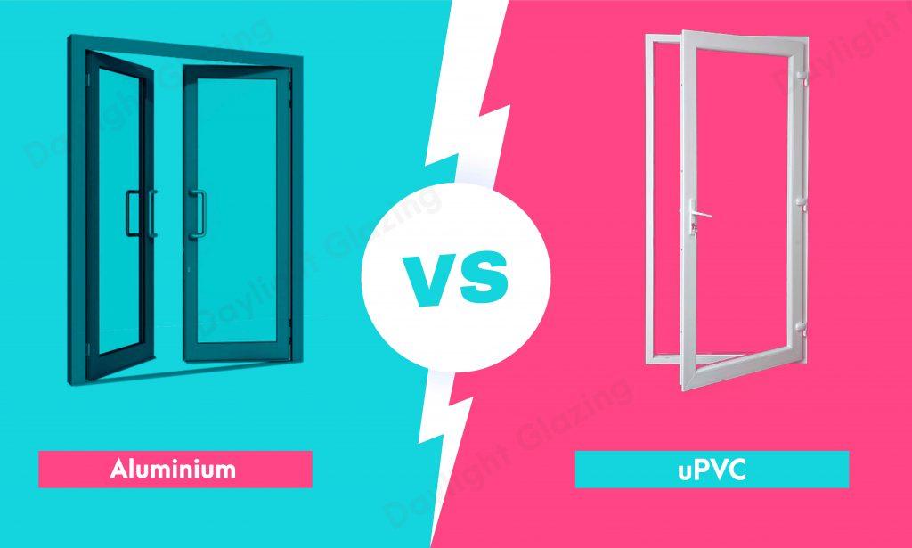 camparison between aluminium & Upvc